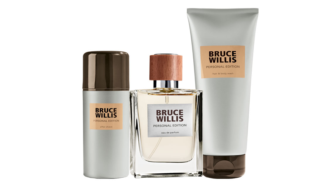 Bruce Willis Personal Edition Parfumset