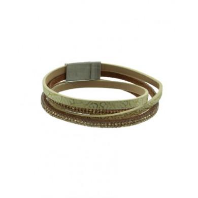 Armband Met Strasssteentjes Blauw