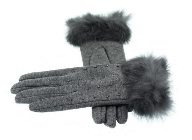 Handschoen Kraal Met Bontje